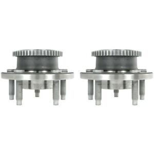 Set tmha590017 Timken Set Of 2 Wheel Hubs Front Driver Passenger Side New Pair