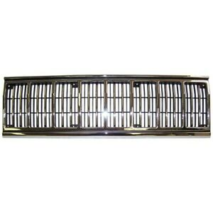 55034046 Grille New For Jeep Cherokee 1991 1996