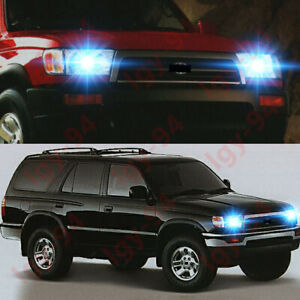 For Toyota 4runner 1996 1997 1998 2pc 8000k Led Headlight Bulb High Low Beam