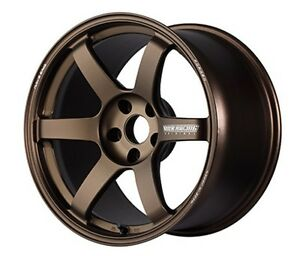 Rays Volk Te37 Saga Forged Wheels Bronze 18x9 5j 45 For Civic Type R From Japan