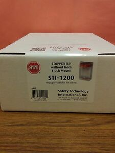 Stopper Ii Protective Covers For Pull Stations Clear Cover Sti Model sti 1200