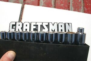 Craftsman Deep Metric Socket Set 6pt