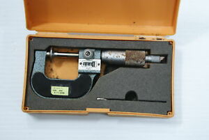 Mitutoyo 223 125 Counter Disc Outside Micrometer