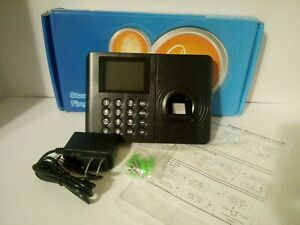 Standalone Employee Attendance Time Clock Biometric Fingerprint Payroll Device A