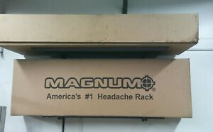 Magnum Back Rack Low Pro Window Cutout Lights Strobes New In Box Gmc Chevrolet