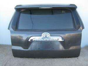 2010 2012 Toyota 4 Runner Lift Gate Privacy Tint Glass Oem 2011