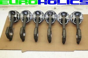 Set Of 6 Oem Bmw E90 335i E60 535i 07 10 3 0l N54 Piston Connecting Rod