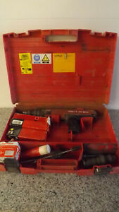 Hilti Dx36m Dx 36 M Powder Actuated Nail Stud Gun Fastening Tool W rounds tools