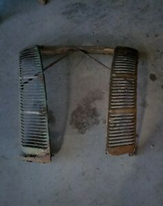 1940 Ford Deluxe Grille Assembly Side Vent Panels