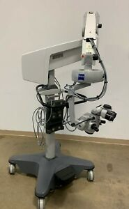 Carl Zeiss Opmi Visu 150 Surgical Microscope On S8 Stand