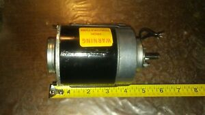 Vtg Electric C C Model Af4712a 1 35hp 1650 Rpm Small Motor 115v 1 05amps 67a61