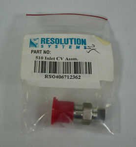 Inlet Check Valve Assy W Ss Opti max Cartridge Waters 510 600 Hplc Pump