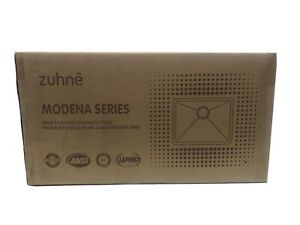 New Zuhne Modena 23 Small Kitchen Prep Laundry Utility Stainless Steel Sink