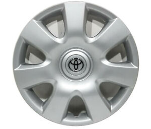 1 Oem 2002 2004 Toyota Camry 15 Hubcap Wheel Cover 61115 tc9