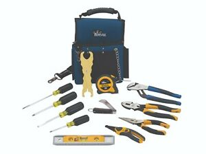 Ideal Industries Journeyman Electrician s Tool Kit New 13 Piece Tool Set