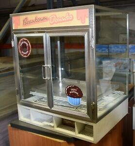 Counter Top Self Service Pastry Donuts Display 2 Shelves Showcase 31 X 36 X 24