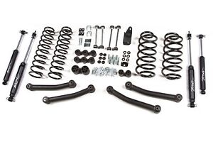 Zone Offroad J10n 4 Suspension Lift Kit System For 97 02 Jeep Wrangler Tj 4wd