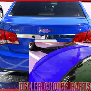 2010 2011 2012 2013 2014 2015 Chevy Cruze Factory Style Lip Spoiler Unpainted
