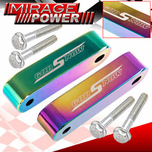 For Honda Turbo Super Charger Air Flow Clearance Hood Riser Spacer Neo Chrome