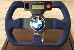Sparco Bmw 2d Data Recording Rally Racing Steering Wheel