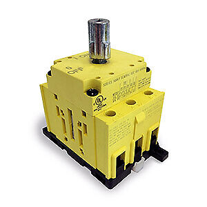 80 Amp 3 Pole Rotary Disconnect Switch Panel din Rail Mount