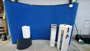 Skyline Mirage Curved 7 5ft X 5 Trade Show Tabletop Display Booth