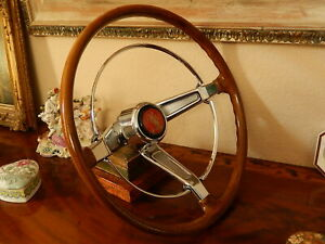 Volkswagen Vw Beetle Steering Wheel Vintage 1961 73 Petri Empi St Christopher