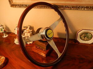 Fiat Dino Coupe Spider Wood Steering Wheel Nardi 15