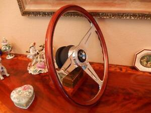 Bmw Steering Wheel 02 E10 1600 1800 Nardi Vintage 15 3 Wood New Nos