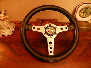 Fiat Abarth 750 Zagato Momo Prototipo Steering Wheel Momo Staggered Nos 1960 S