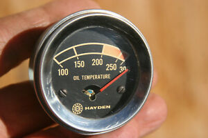 Hayden Vintage Electric Oil Temperature Gauge