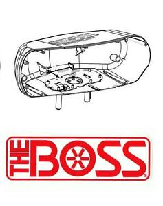 Boss Snow Plow Head Light Housing Passenger Side 2002 2007 Models Msc04738 New