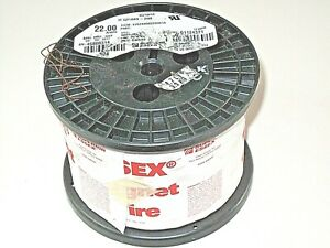 22 Awg Essex Magnet Wire Enameled Heavy Build 200 Degree Celsius 8 7 Lb Spool