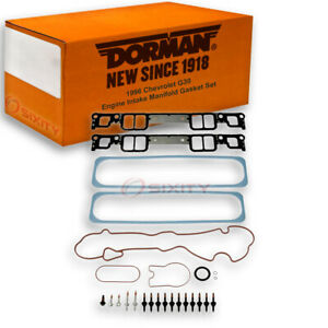 Dorman Lower And Upper Intake Manifold Gasket Set For Chevy G30 1996 5 7l V8 Yu