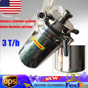 110v Food Grade Centrifugal Pump Sanitary Beverage Pump 3 Ton 304 Ss Us Stock