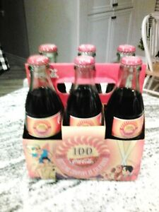 Coca cola 100th Anniversary 6 Pack 8 oz Bottles New Unopened