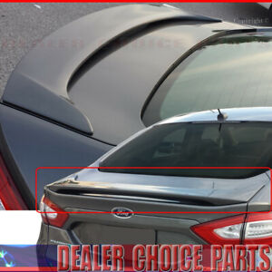 2013 2014 2015 2016 2017 2018 2019 2020 Ford Fusion Trunk Spoiler Wing Unpainted