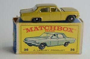 Matchbox Lesney No 36 Opel Diplomat - Made In England - Boxed