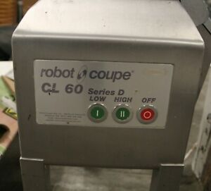 Robot Coupe Cl60e Series D Commercial Food Processor