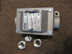 Eaton Mst02eh Ms Type Toggle Operated Manual Motor Starter Switch Box New