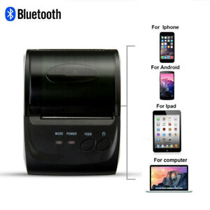 Mini 58mm Bluetooth Wireless Mobile Pos Thermal Receipt Printer Pos 5802dd D2a1