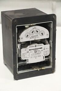 Ge General Electric 704x63g428 Polyphase Watthour Meter 3 phase 120v