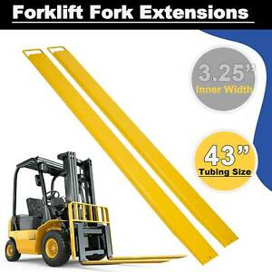 84 X 5 8 Forklift Pallet Fork Extensions Forklifts And Loaders Truck On Clamp