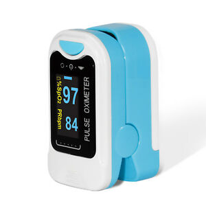 Oled Finger Pulse Oximeter Spo2 Pr Meter Blood Oxygen Saturation Tester Monitor