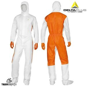 Delta Plus Dt125 Type 5 6 Disposable Overall Coveralls Protective Suit Chemical