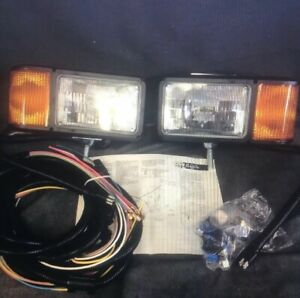 Truck Lite Universal Halogen Snow Plow Light Set Complete Kit Hardware 80800