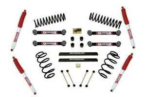 Skyjacker Suspension Lift Kit W Shock For 1997 2002 Jeep Wrangler tj Skytj4
