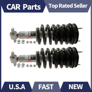 Kyb Strut Plus Front Shock Strut Assembly Lh Rh Pair For 07 11 Chevy Gmc Truck