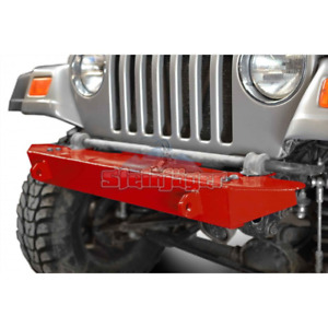 Steinjager Jeep Wrangler Tj Front Bumper 1997 2006 Red Baron J0048725