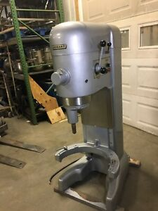 Hobart 80qt Mixer With Power Hub M802 Refurbished With S s Bowl And Paddle